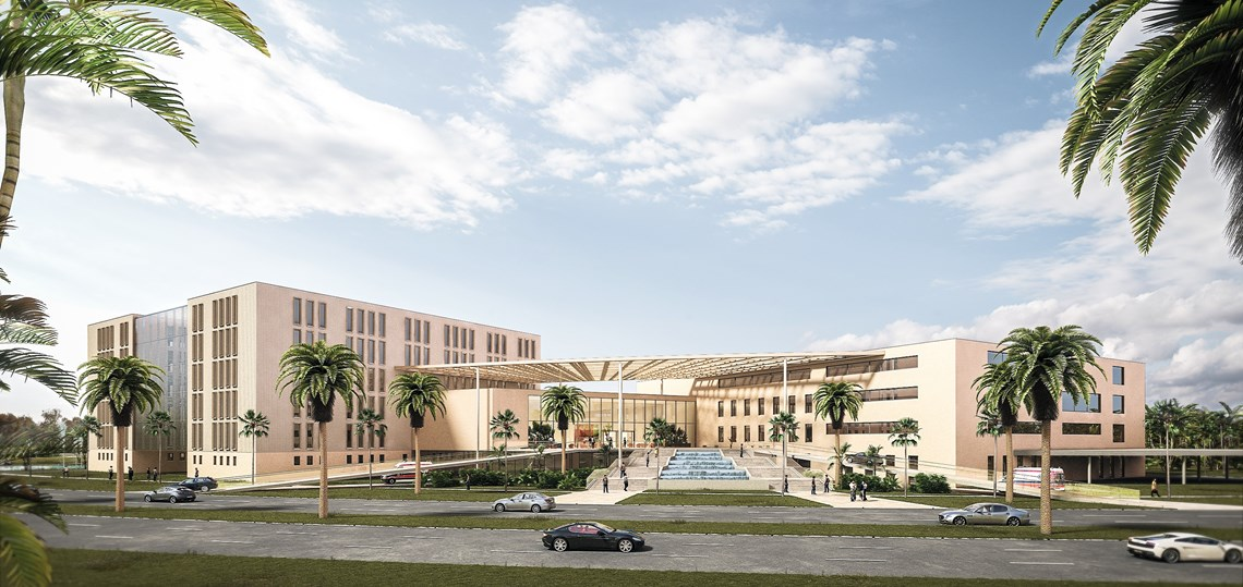 Al Reem Integrated Health & Care Center Abu Dhabi | VAE | (c)2015 ZOOMVP | 01