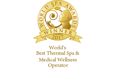 worlds best thermal spa medical wellness operator |2017 |winner shield gold