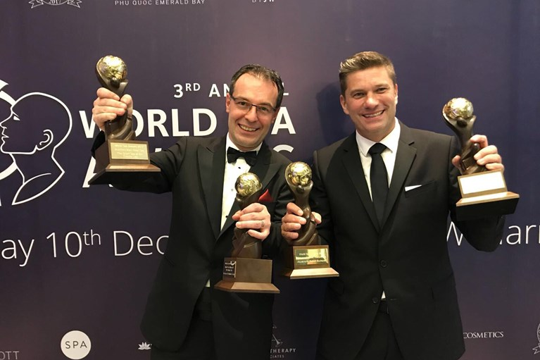 Tom Bauer und Markus Ernst | VAMED Vitality World | World Spa Award 2017